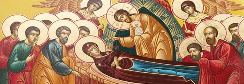 Литургия в Свято-Троицком соборе Вольска в день Успения Пресвятой Богородицы