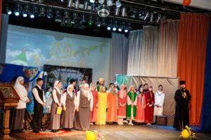 8 апреля 2018 года в пгт. Пойковский Приход храма Святой Троицы совместно с работниками ЦКиД «Родники» провели Пасхальный концерт, посвященный Светлому Христову Воскресению.