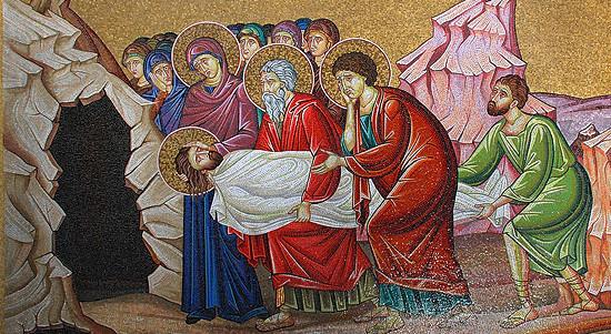 Плач Богоматери при погребении Сына – это и наш плач!