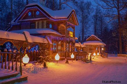 Поездка к Деду Морозу